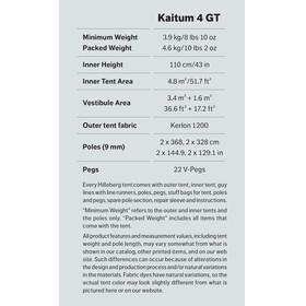 Hilleberg Kaitum 4 GT Tent Sand